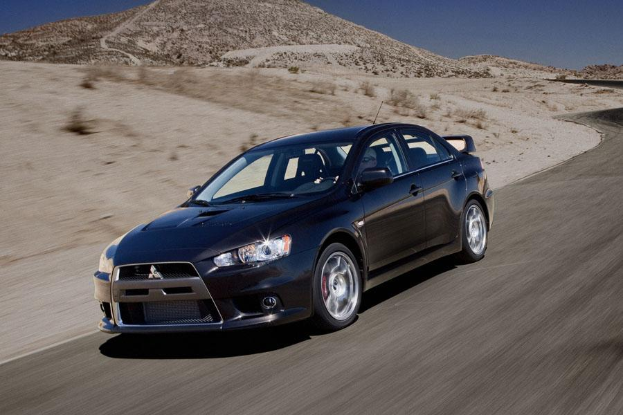 2008 Mitsubishi Lancer Evolution Photo 2 of 12