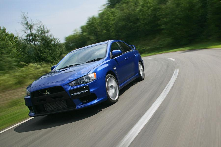 2008 Mitsubishi Lancer Evolution Photo 4 of 12