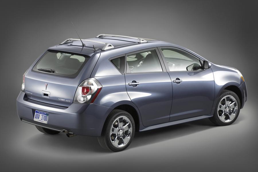2009 Pontiac Vibe Overview Cars Com