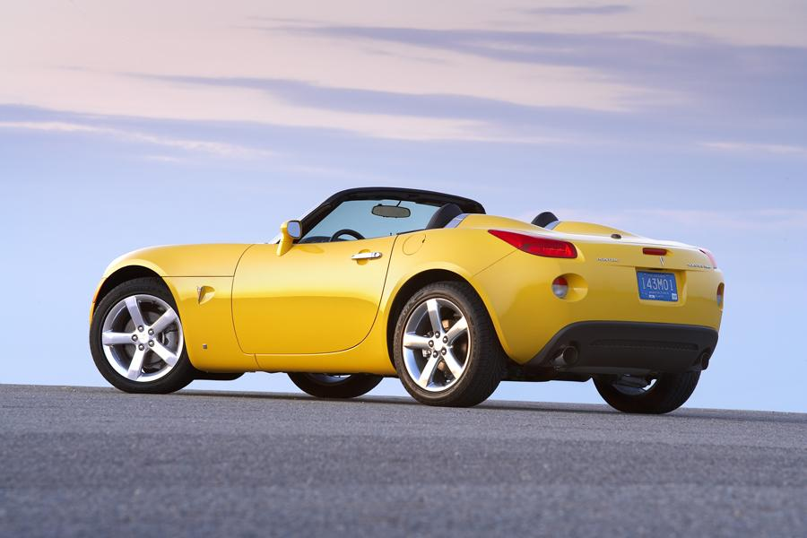 Pontiac Solstice Convertible Models Price Specs Reviews