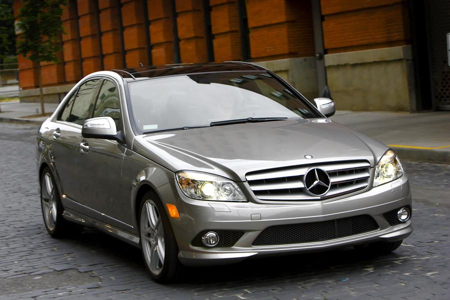 2009 mercedes benz c class overview for Barrier mercedes benz