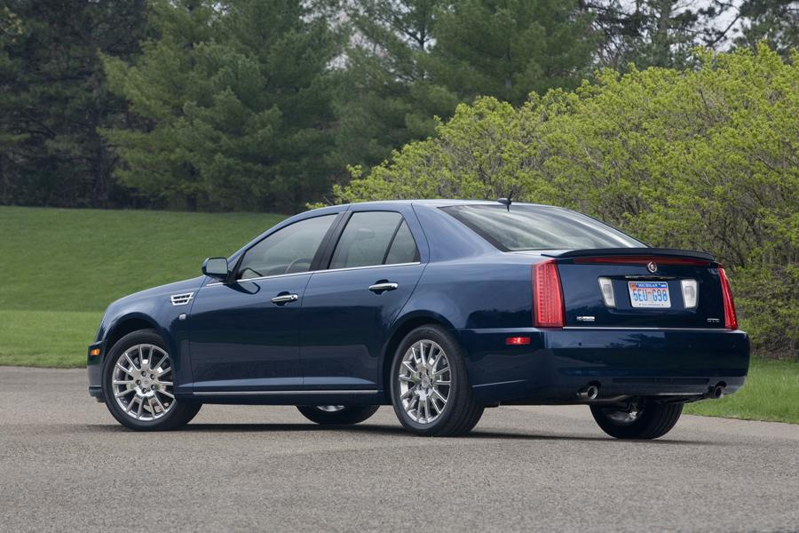 cadillac sts sedan models price specs reviews carscom