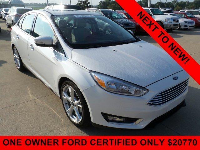 Certified 2016 Ford Focus Titanium