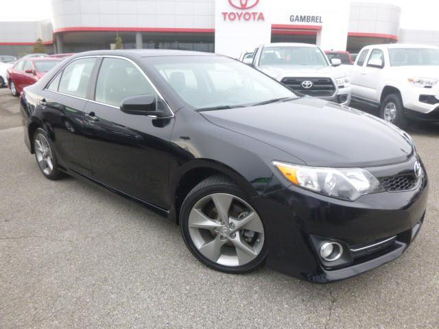 Certified 2012 Toyota Camry SE