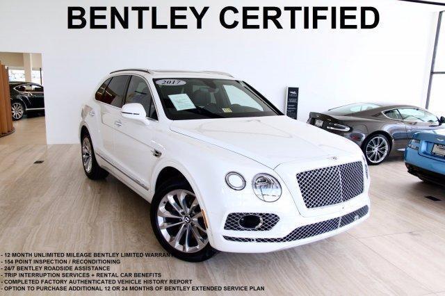Certified 2017 Bentley Bentayga W12