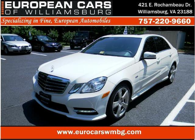 Used 2012 Mercedes-Benz  E 350 4MATIC