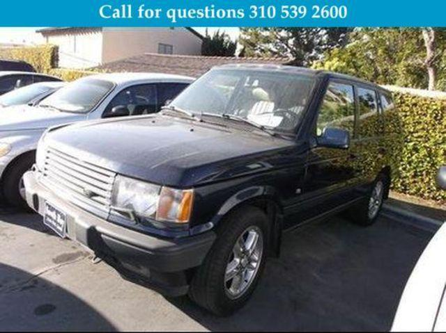 Used 2000 Land Rover Range Rover HSE