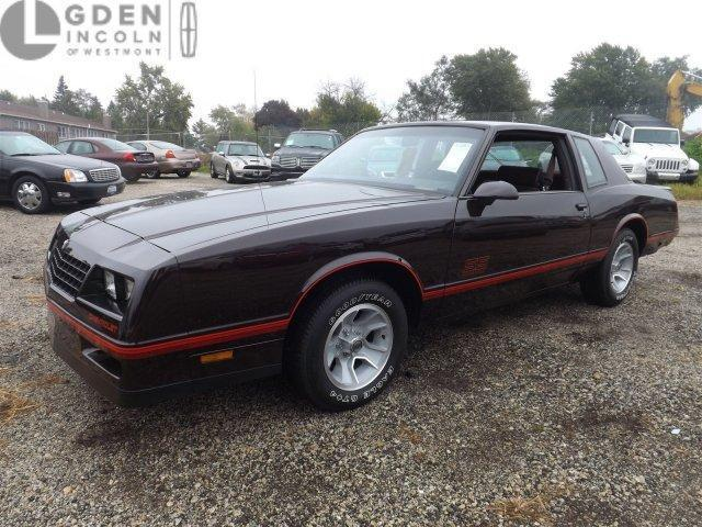 Used 1987 Chevrolet Monte Carlo SS