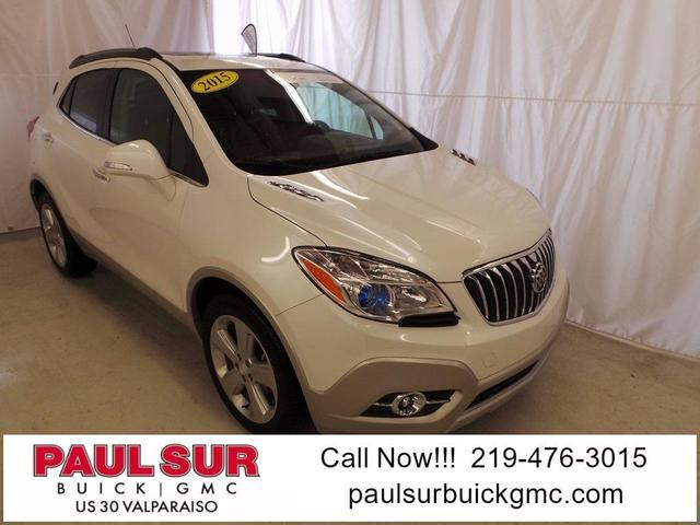 Used 2015 Buick Encore Leather