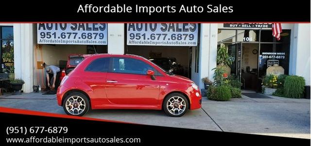 Used Fiat 500 Murrieta Ca